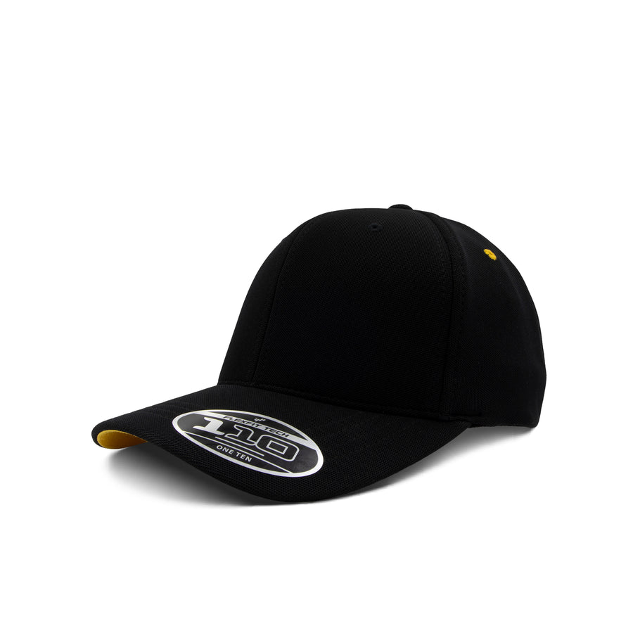 Flexfit 110 - Black & Vivid Yellow