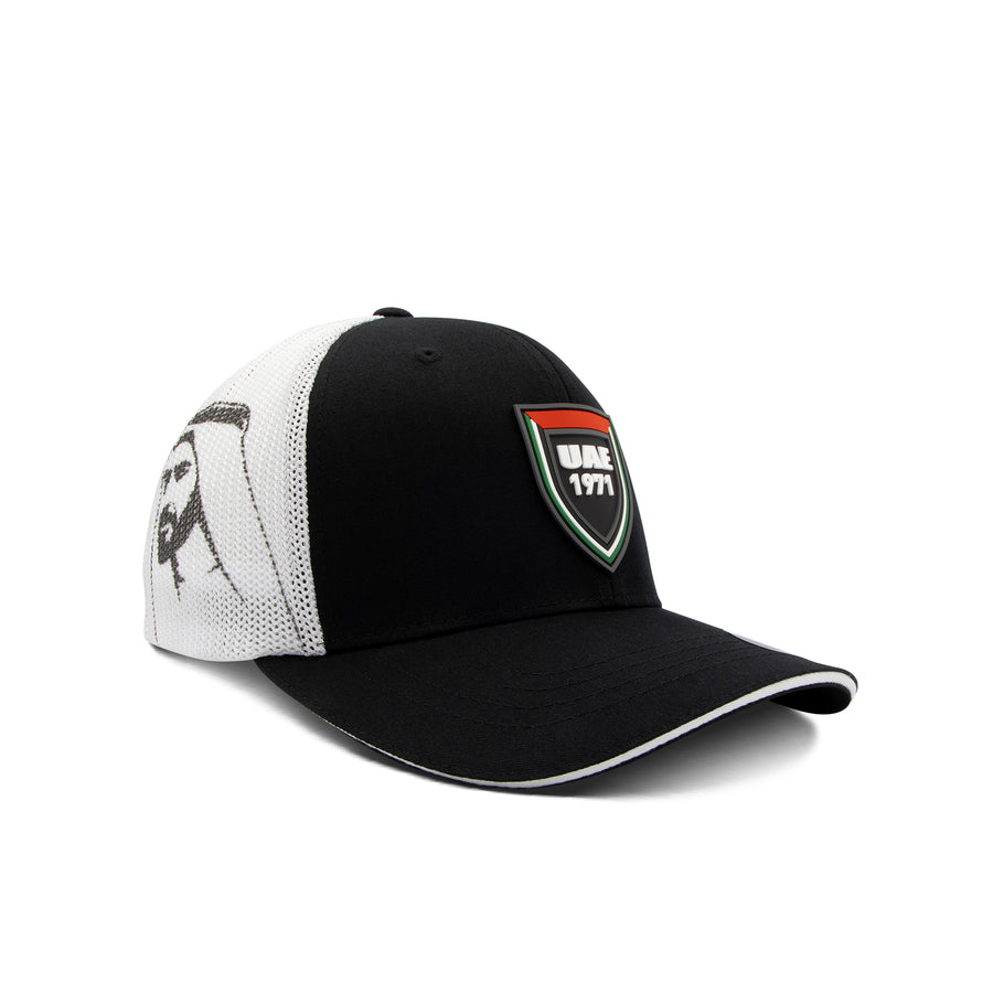UAE Shield - Black & White