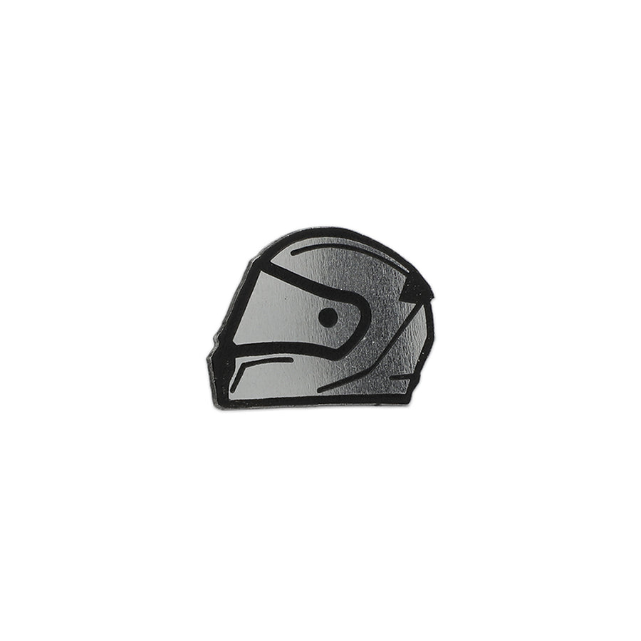 Racer Helmet Pin - Metal Pins