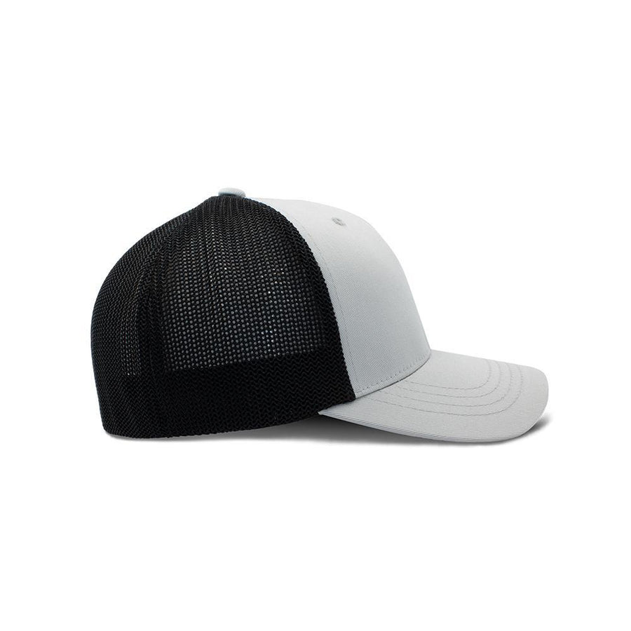 Flexfit Trucker - Medium Grey & Black