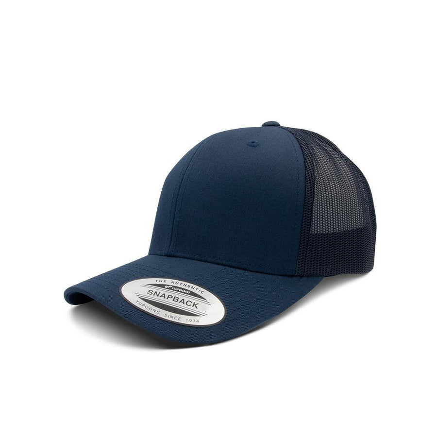 Trucker Snapback - Navy Blue