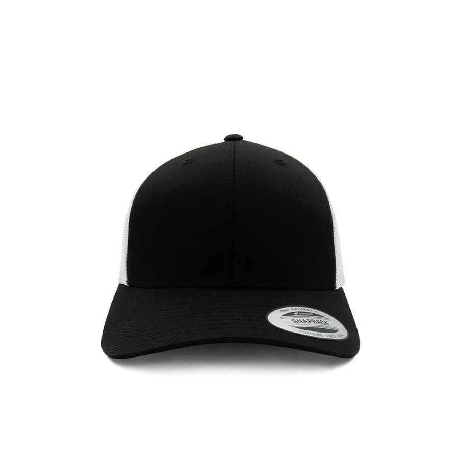 Trucker Snapback - Black & White