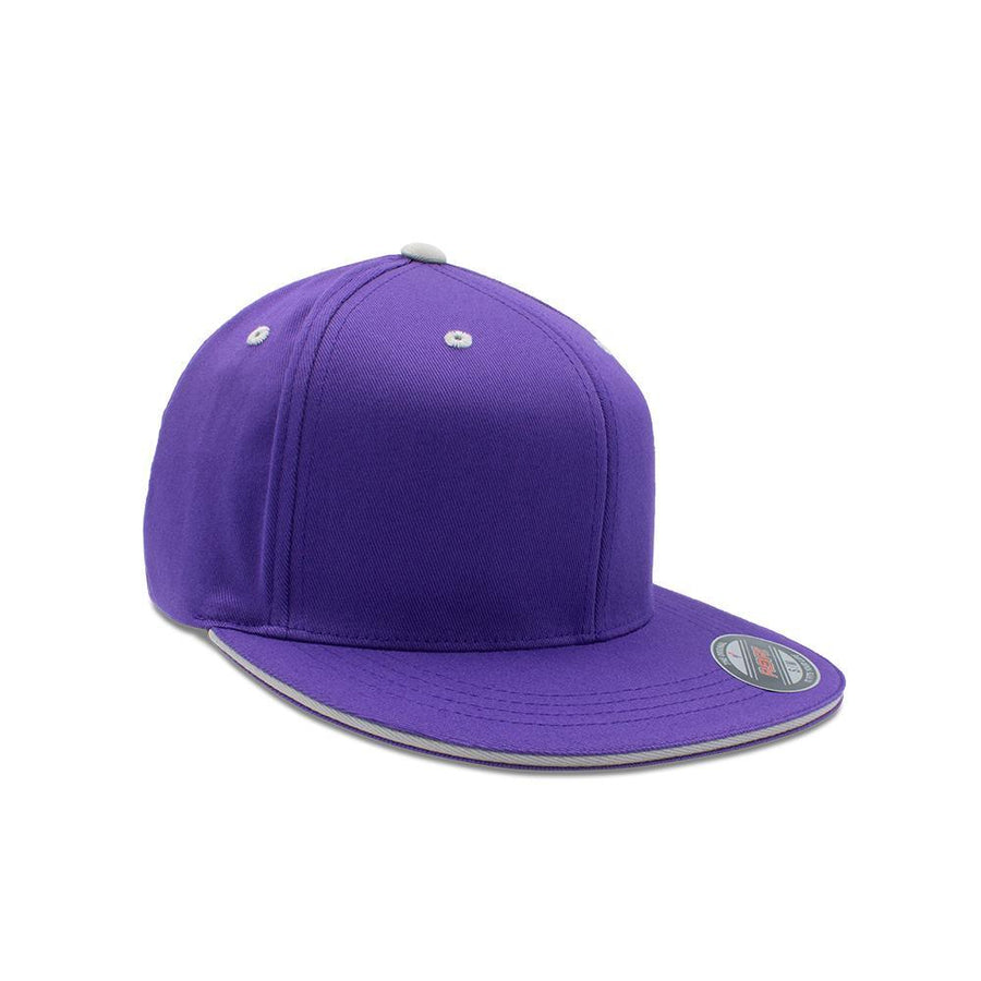 Flexfit Flat Peak - Majextic Purple & Silver