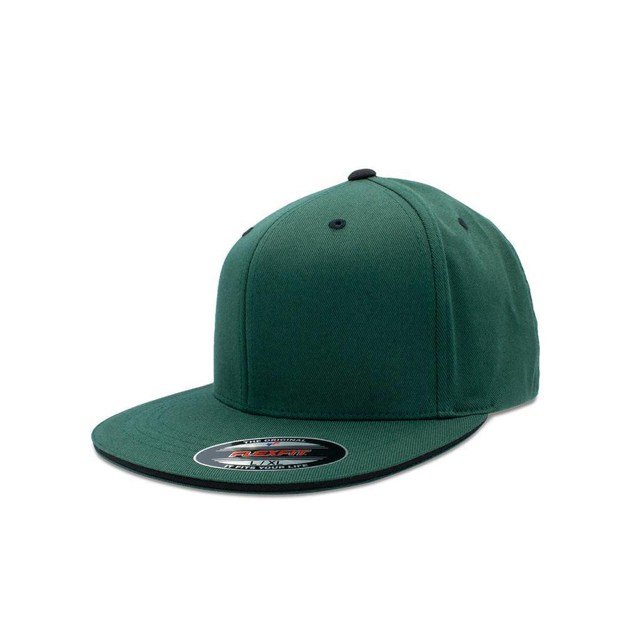 Flexfit Flat Peak - Spruce & Black