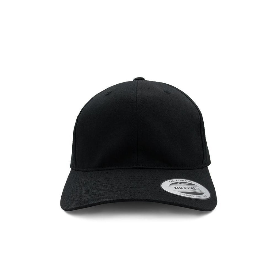 Buckle Back Cap - Black