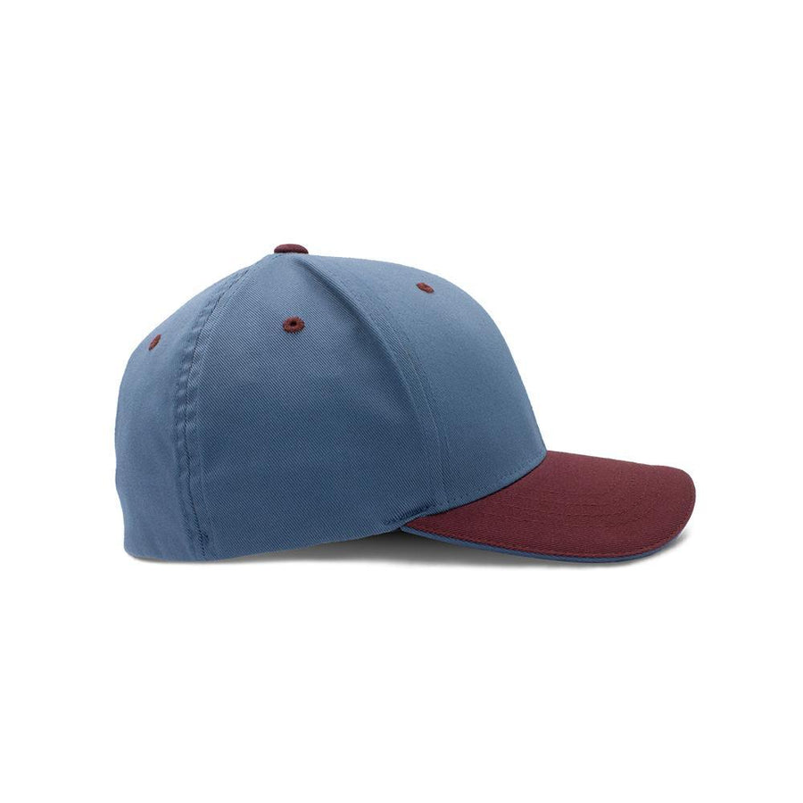 Flexfit Closed Back - China Blue & Deep Red