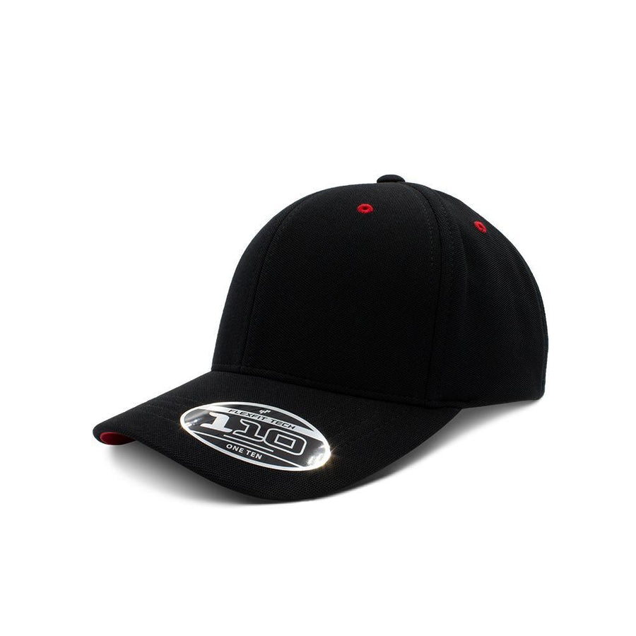 Flexfit 110 - Black & Red