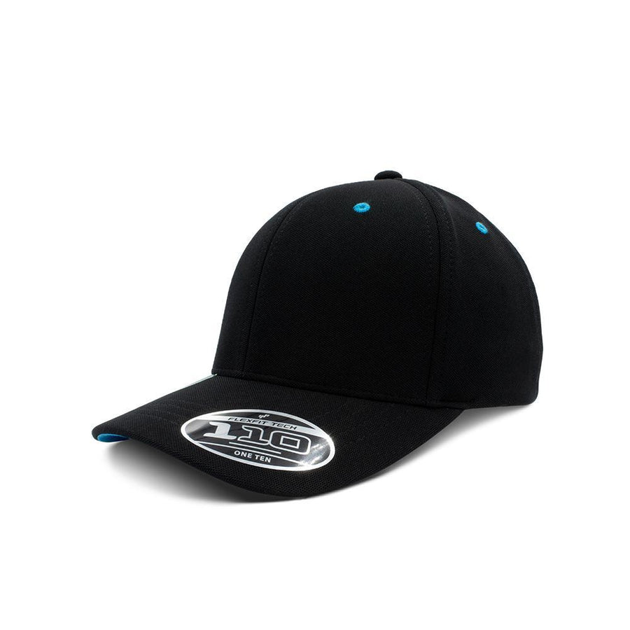 Flexfit 110 - Black & Methyl Blue