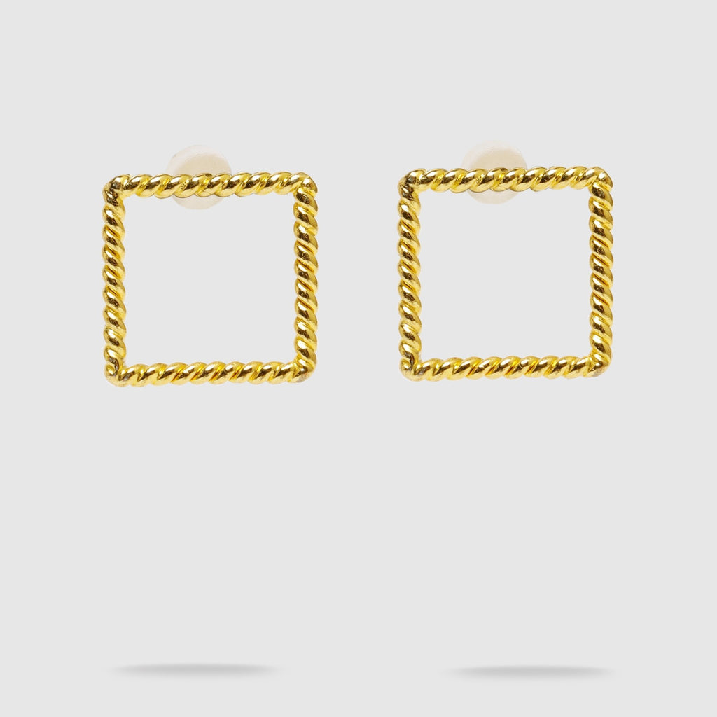Cooper Square Stud Earrings