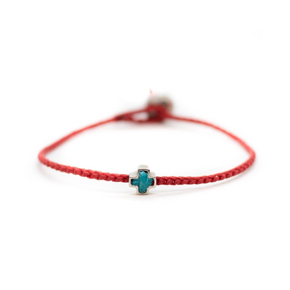 Faith bracelet red colour