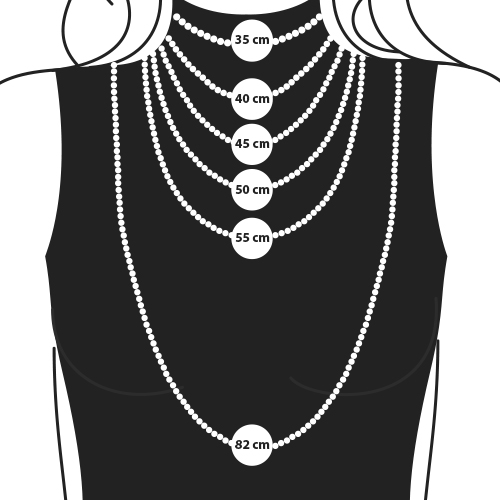 Necklace Size Template