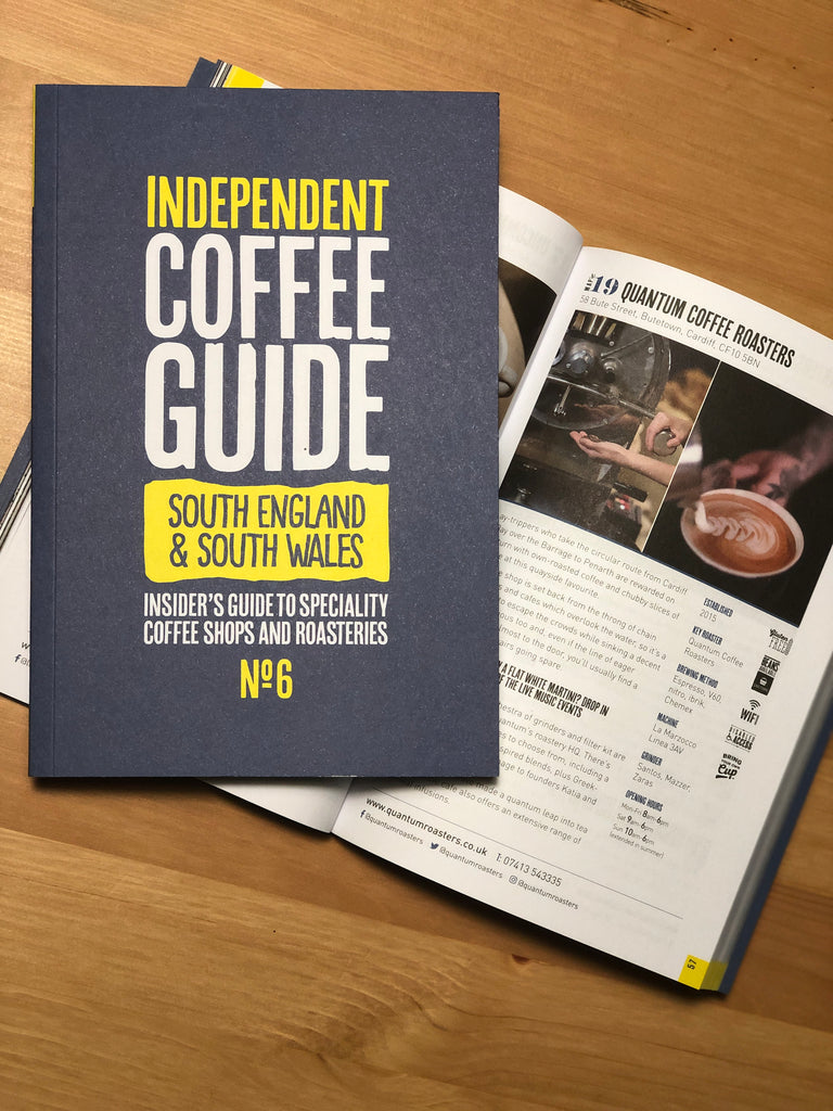 NEW South England & South Wales Independent Coffee Guide no.6