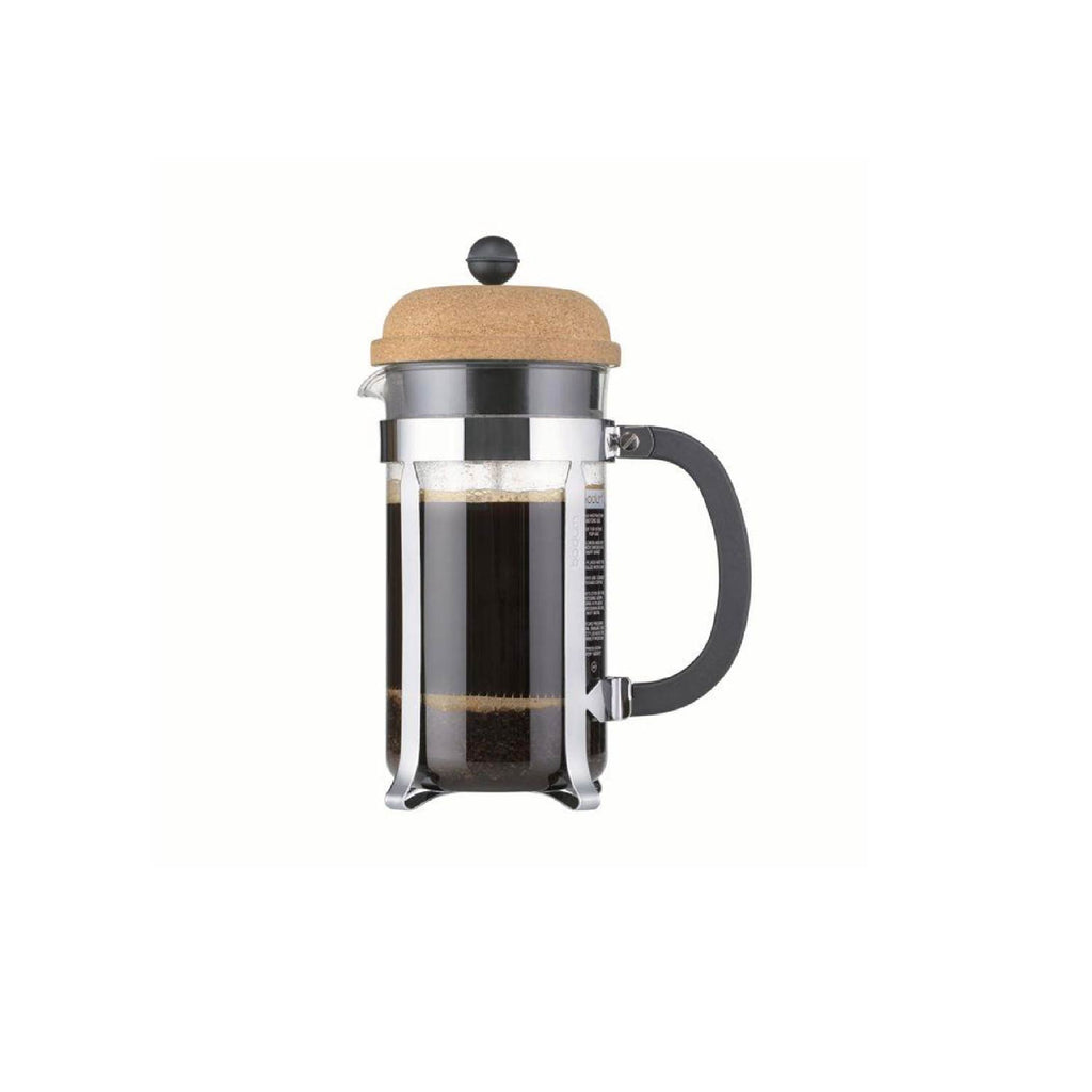 BODUM CHAMBORD COFFEE MAKER - 3 CUP - CORK