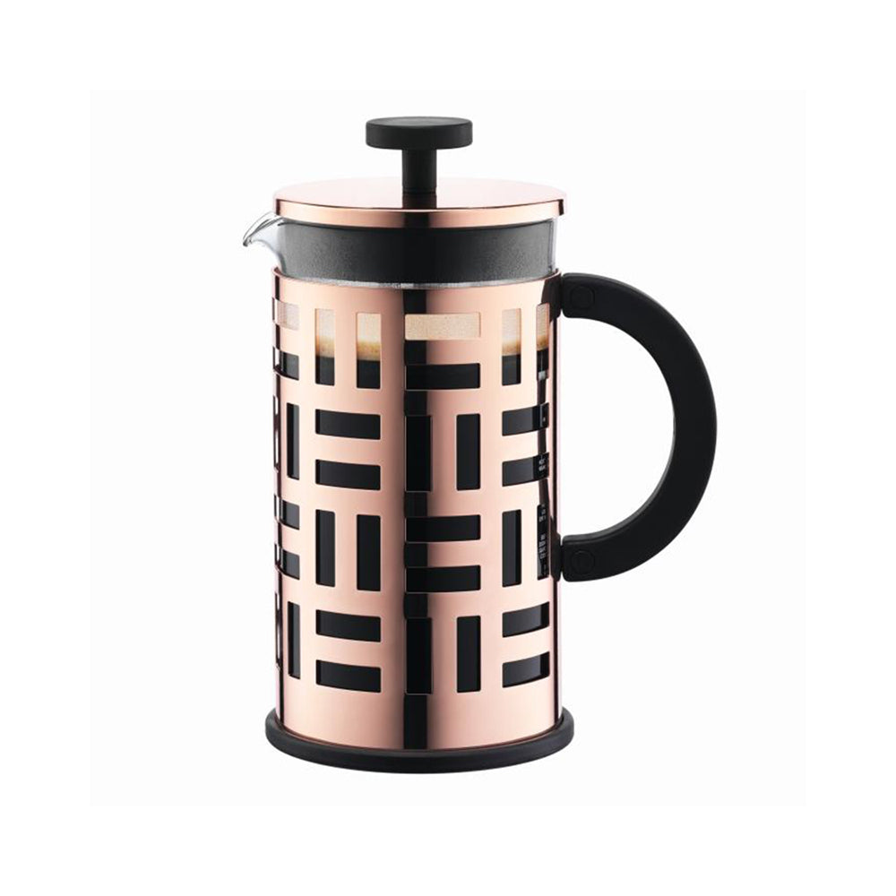 BODUM EILEEN COFFEE MAKER - 8 CUP  COPPER