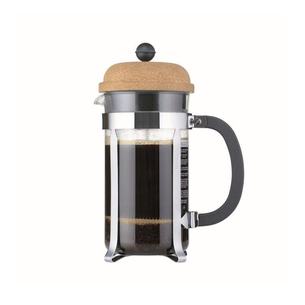 BODUM CHAMBORD COFFEE MAKER - 8 CUP - CORK