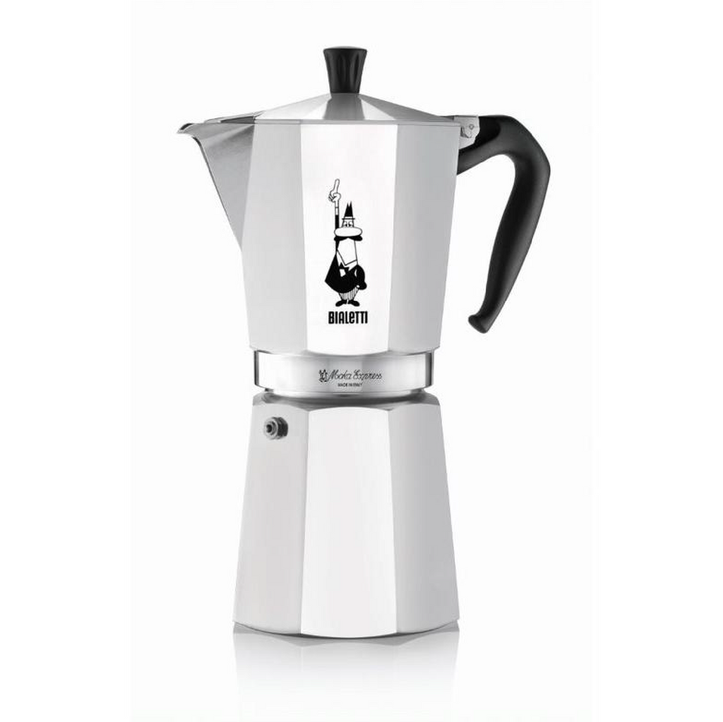 BIALETTI EXPRESS ALUMINIUM STOVETOP - 12 CUP