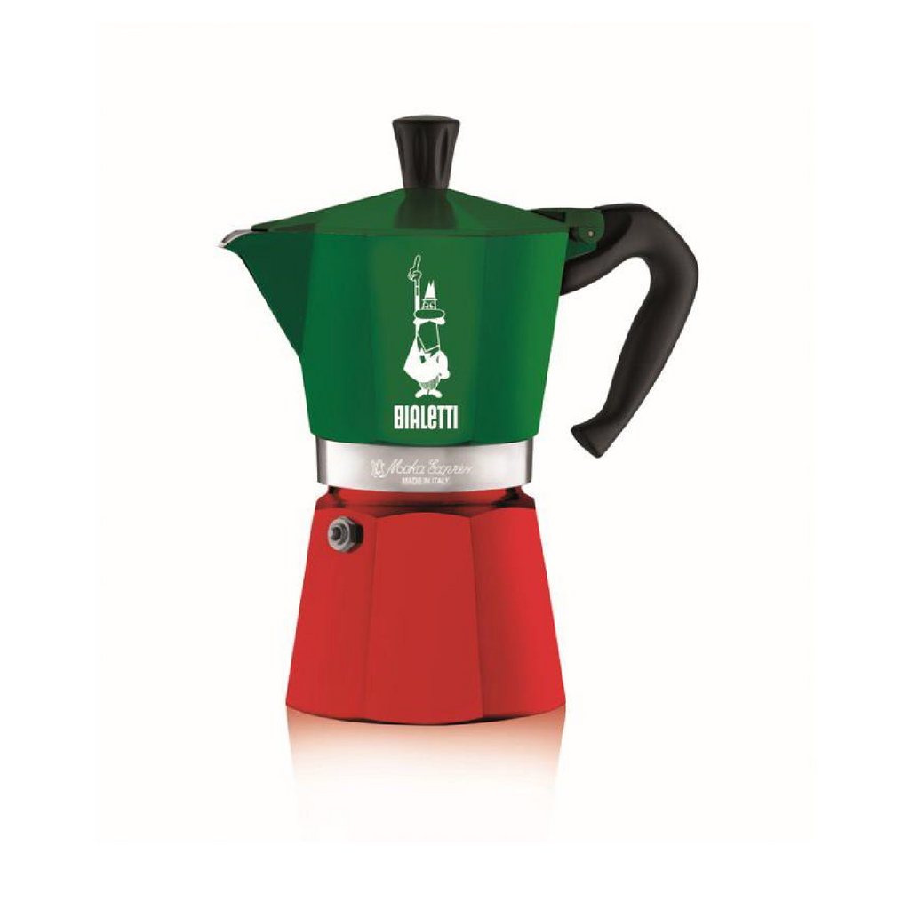ITALIA COLLECTION BIALETTI EXPRESS ALUMINIUM STOVETOP - 6 CUP