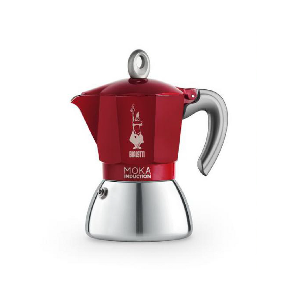 BIALETTI INDUCTION STOVETOP - 6 CUP