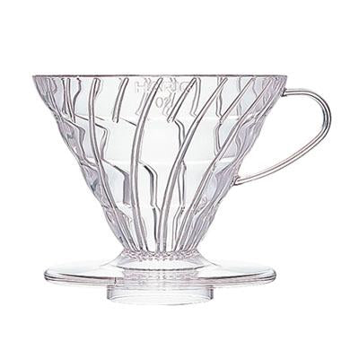 HARIO V60 COFFEE DRIPPER 02 - CLEAR