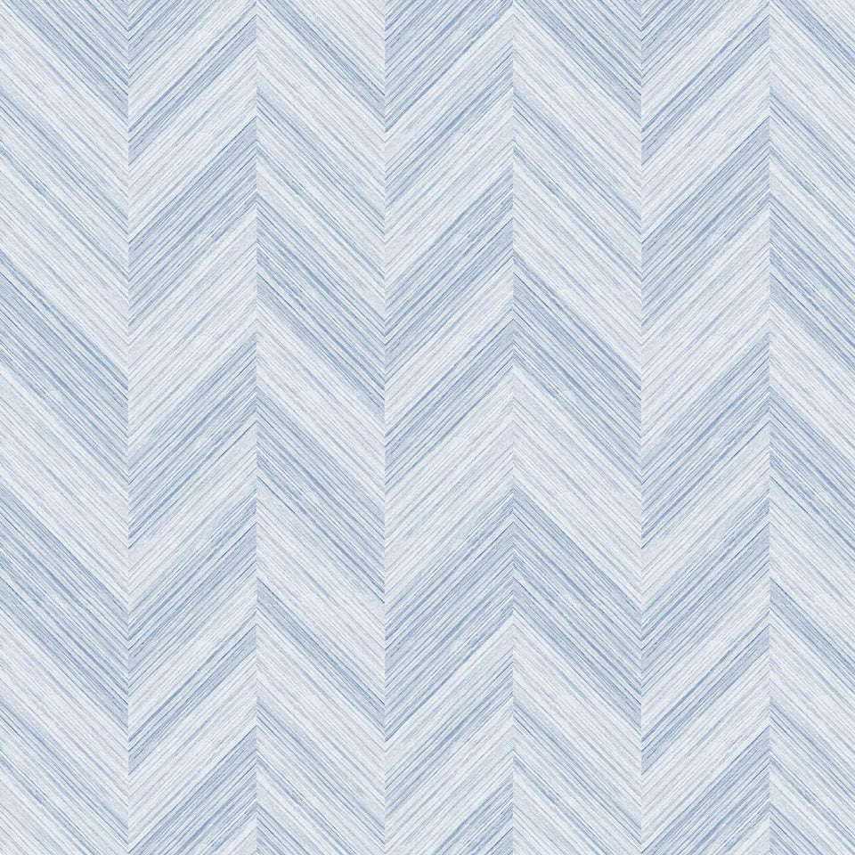 Chevron Woodgrain - Rain Wallpaper