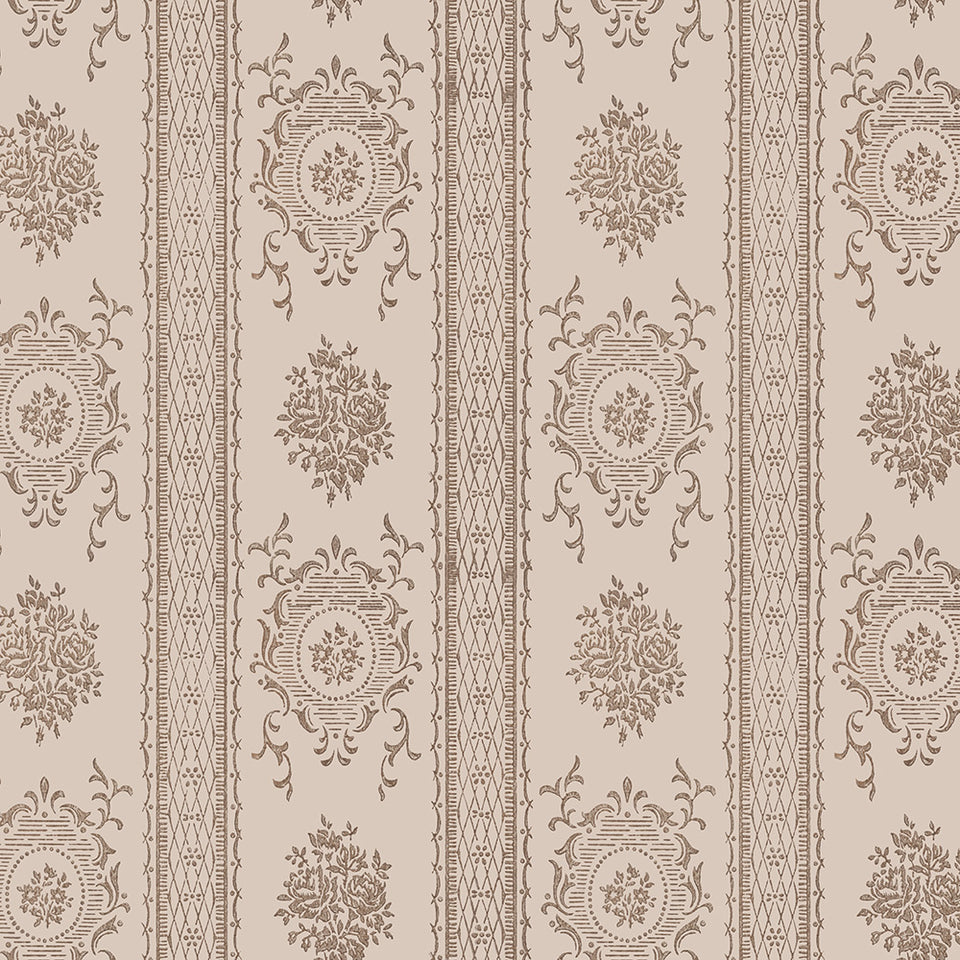 Constance - Taupe Wallpaper