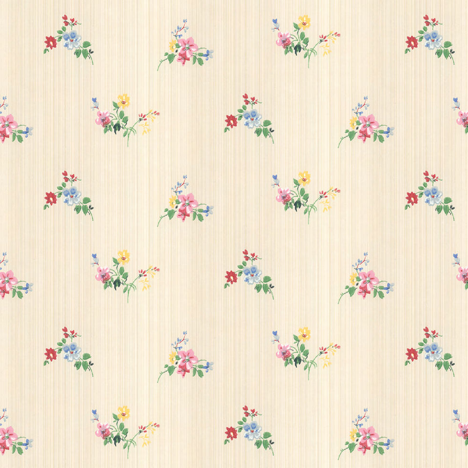 Dollop of Florals Wallpaper