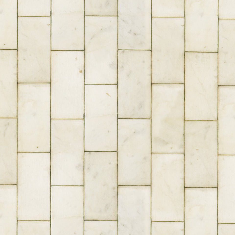 Ivory Vertical Tile Wallpaper