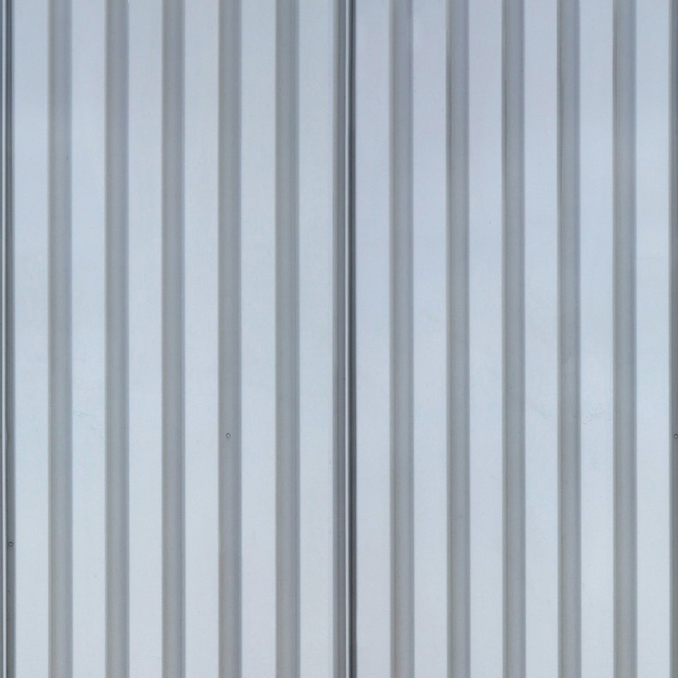 Steel Corrugated Fence Wallpaper