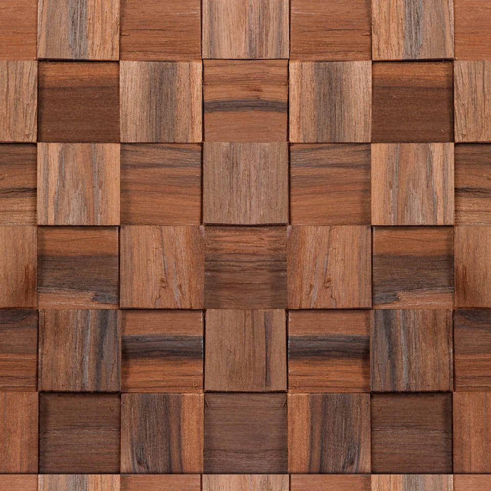 Mixed Grain Woodblock Wallpaper