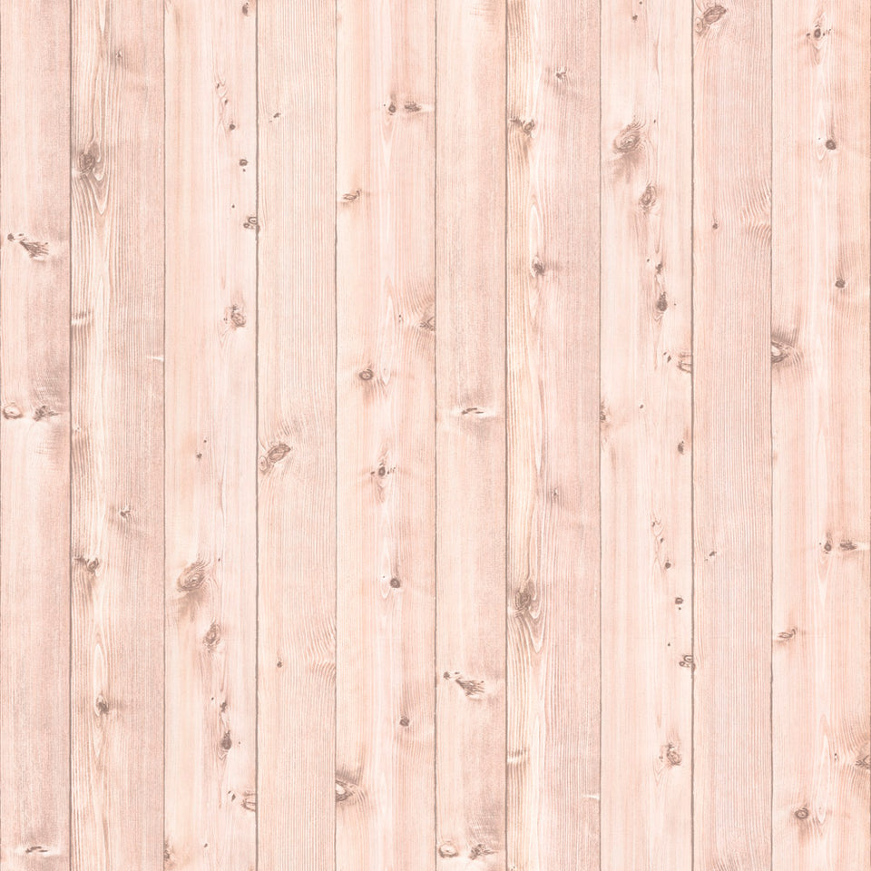 Light Wood Wide Planks 2 WW Wallpaper
