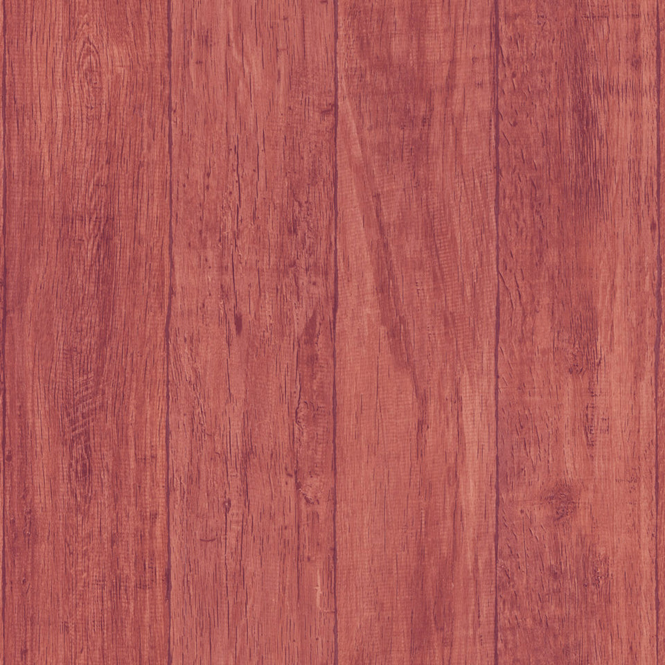 Red Wood Planks WW Wallpaper