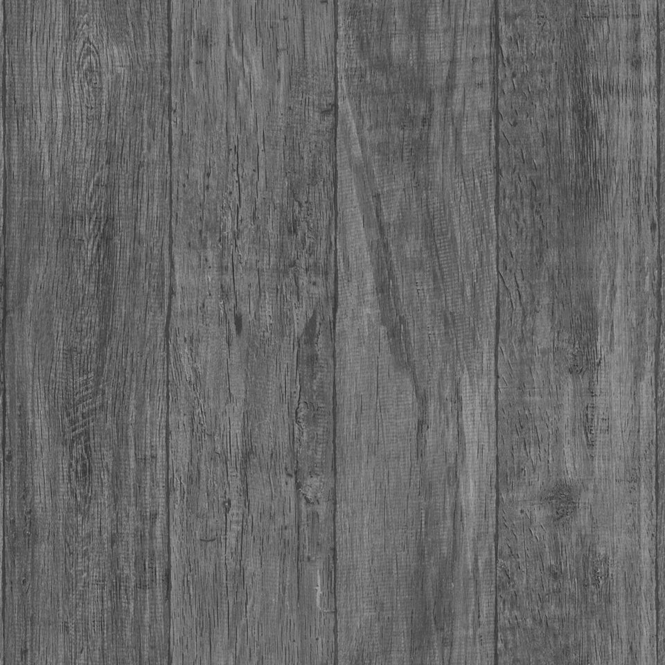 Grey Wood Planks WW Wallpaper