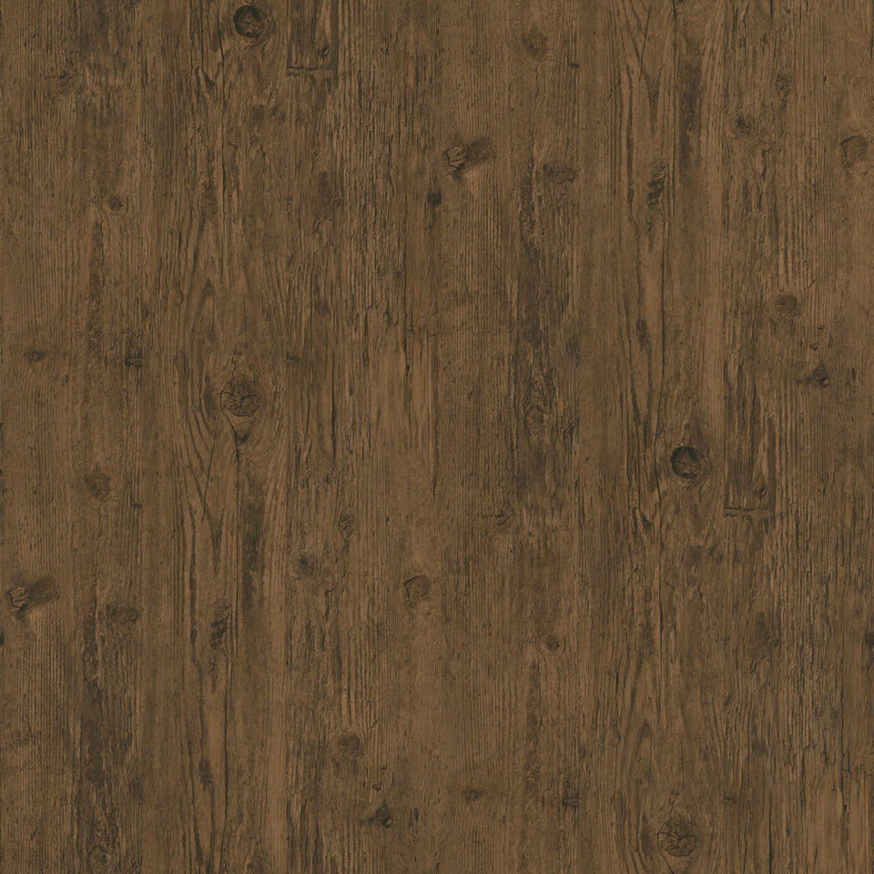 Dark Rustic Wood Board WW Wallpaper