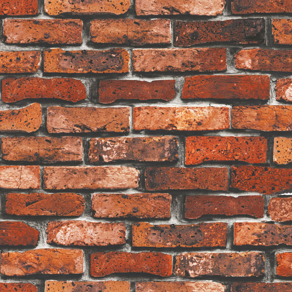 Rustic Red Brick 2 Wallpaper