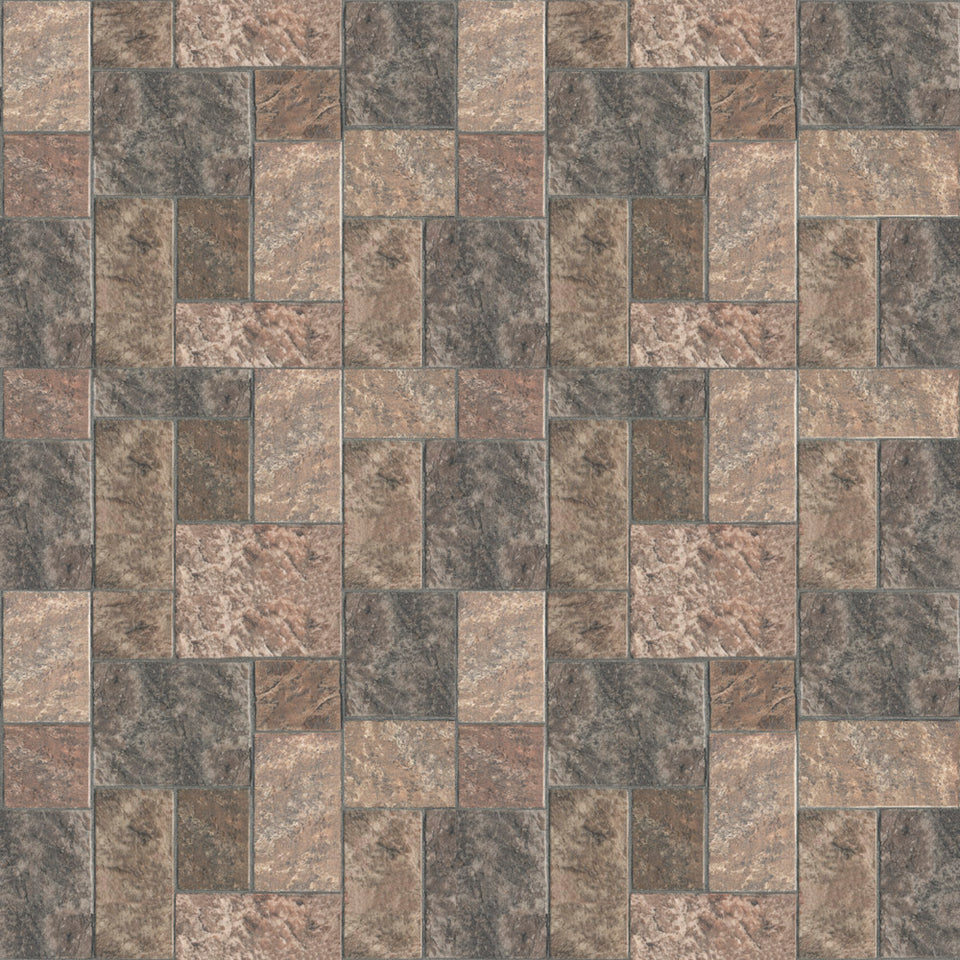 Paver Pattern Flooring Wallpaper