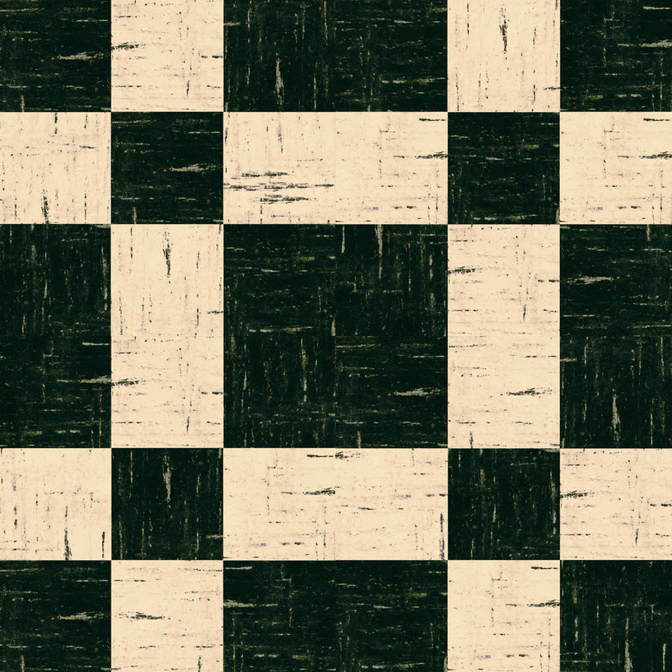 BlackWhiteTileFlooring Wallpaper