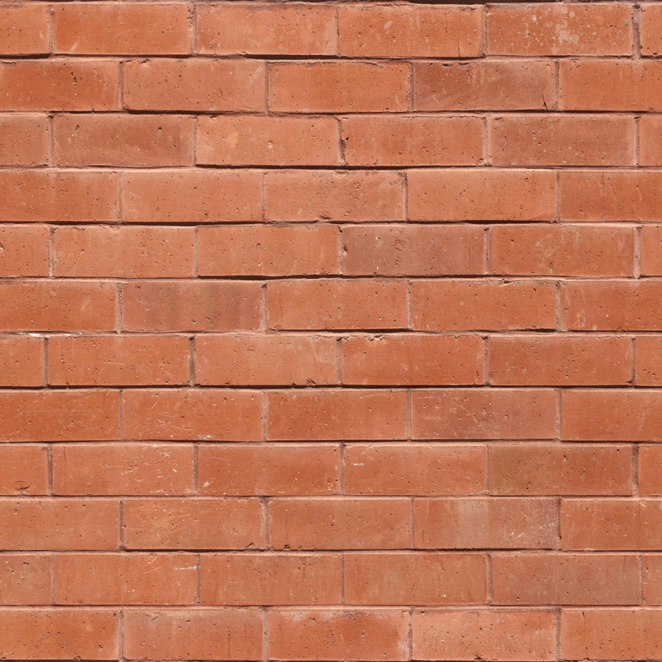 Red Brick Thin Grout Wallpaper