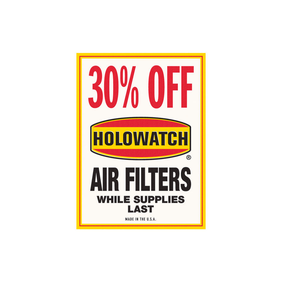 Holowatch Air Filters Sign Wallpaper