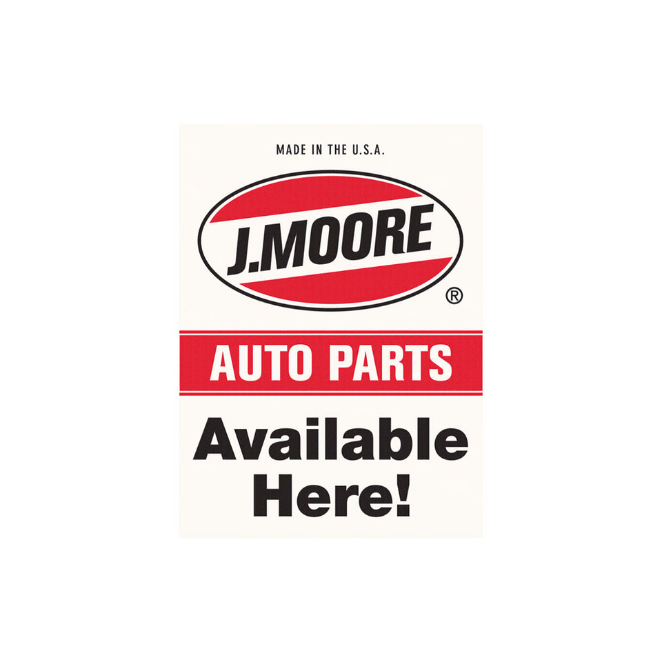 J. Moore Auto Parts Sign Wallpaper