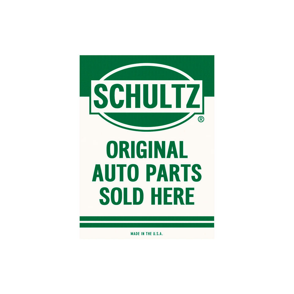 Schultz Auto Parts Sign Wallpaper