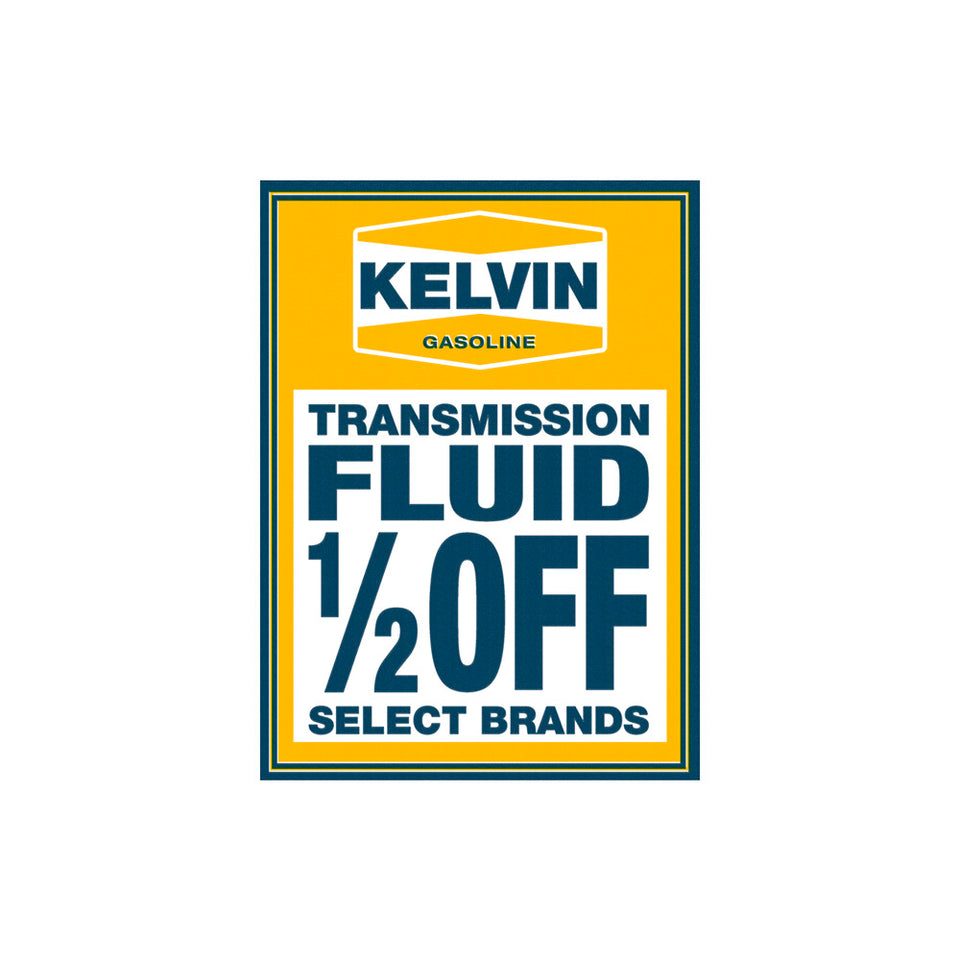 Kelvin Transmission Fluid Sign Wallpaper