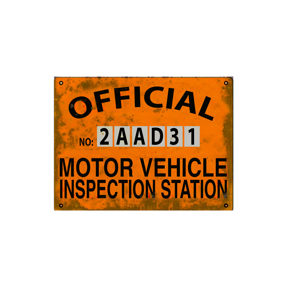 Inspection Station Sign Wallpaper