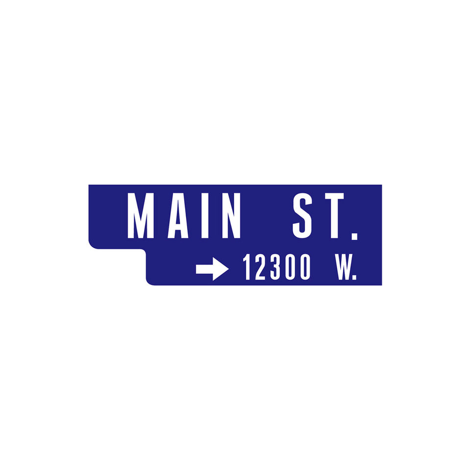 Road Sign Main St Wallpaper