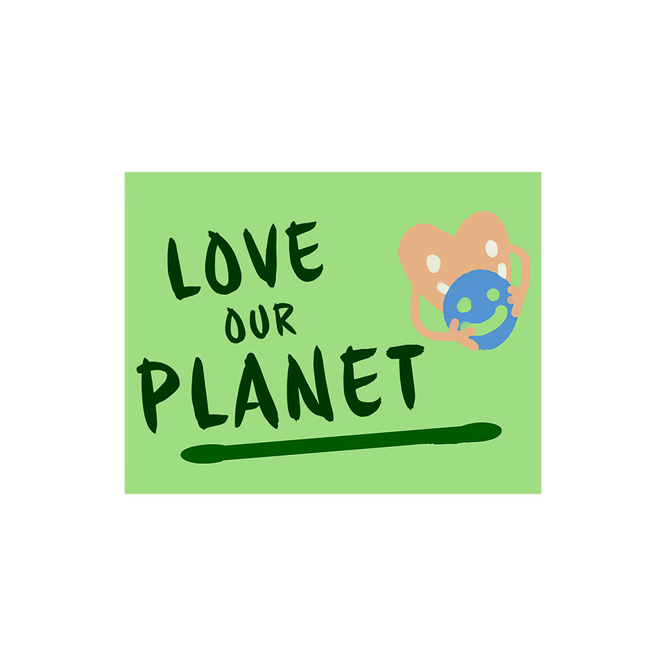 Love Planet Poster Wallpaper