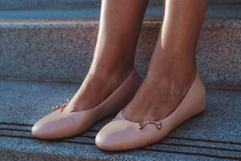 Kira Bani Italian ballet flats are designed by women