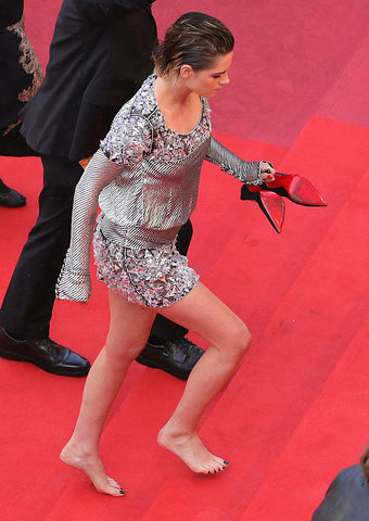Ditching heels at cannes