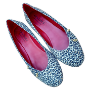 The Ballet Flat Leopard Leather - Kira Bani
