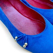 The Ballet Flat Royal Blue - Kira Bani