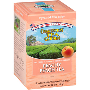Peachy Peach Pyramid (Formerly Plantation Peach Tea)