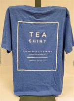 Load image into Gallery viewer, Heather Royal Tea Shirt Back